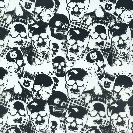 SKD9-1   Skull design  hydrographics film